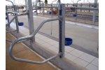 Suspended Divide Tie Stalls