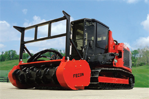 Fecon - Model FTX128L - High Performance Compact Mulching Tractor