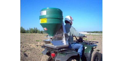 Delimbe - Electric Fertilizer Drill for Quad