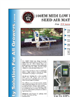 AgriNomix - Model 100EM - Midi Low Drop Seed-Air-Matic Machine - Brochure