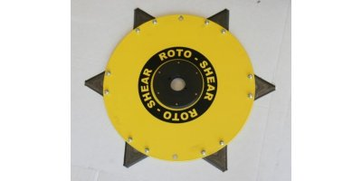Rotor With Hub and Blades