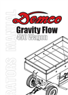 450 Gravity Flow Wagon Operators Manual- Brochure