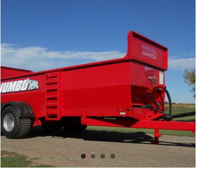 Jumbo - Model LPW - Solid Manure Spreaders