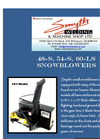 Snowblowers 48-S, 54-S & 60-LS (Residential) Series- Brochure