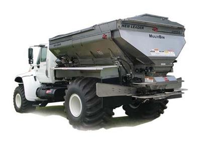 Stahly - Model NL4000G4 - Fertilizer and Lime Spreader