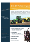 Grain Drill Application Systems- Brochure