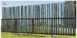 Tuff - Self Standing Windbreak Panels