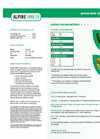 Alpine - Model HKW18 - Liquid Fertilizer - Datasheet