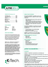 Alpine - Model K20-S - Liquid Fertilizer - Datasheet