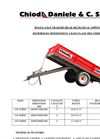 Chioda Daniele - Agricultural Trailers Brochure