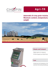CHOPIN - Agri-TR - Automatic Moisture Meter - Brochure