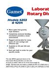 Gamet Lab Divider Brochure