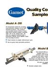 Gamet B-310 Quality Control Sampler Brochure