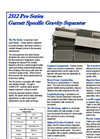 Garratt 2512 Gravity Table Brochure