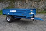 Model DDS 2.5T 8' x 5' - Tipping Trailer