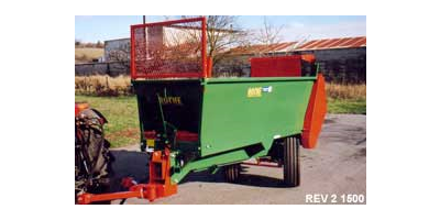 Manure & Compost Spreader for Vineyards