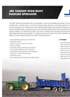 JBS - Wide Body Manure Spreader - Brochure