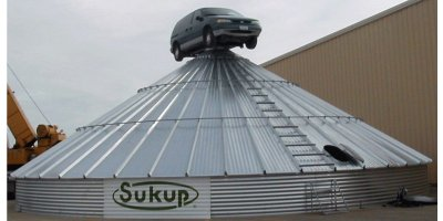 Sukup - Stiffened Farm Flat Bottom Bins