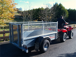 Nugent - Model ATV - Quad Bike Trailers