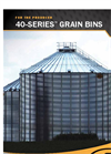GSI - Model 40-Series - Grain Bins - Brochure