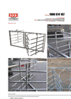 Arrow Farmquip - Model SGST - Goat Spear Trap - Brochure