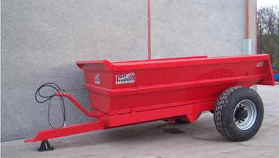Humac - 8 Tonne - Trailers - Commercial Axle Dump Trailer by