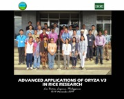Philippines: IRRI conducts training in ORYZA 3 rice modeling tool for advanced applications in rice research