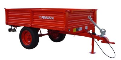 Model TL SERIES - Single Axle Agricultural Trailer