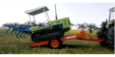 Model PT SERIES - Single Axle Agricultural Trailer