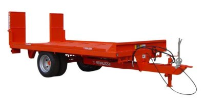 Model RB 50 SERIES - Single Axle Agricultural Trailer