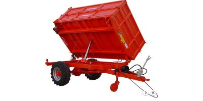 Model NSR TM-PM SERIES - Single Drive Axle Agricultural Tipping Trailer