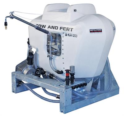 Tow and Fert - Model Multi 1200 - Horticultural Fertiliser Sprayers