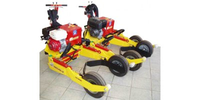 Pazzaglia - Model PZ 1200 - Hydrostatic Self Propelled Machine for transport of potted plants