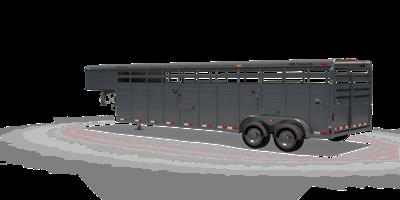 Steel Gooseneck Trailer