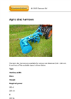 Agric Disc Harrows Brochure