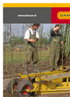 Damcon - Model PL-30 – 90 - Tree Planting Machine Brochure