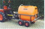 Damcon - Three-Points Mounted Weed Sprayers