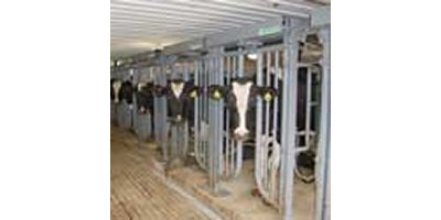 Model LS96 - Walk-Through Milking Parlor