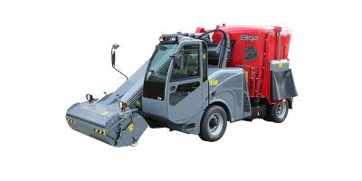 Biga Rapide - Self-Propelled and Self-Loading Undercarriages Feed Mixer