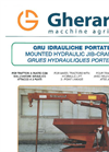 Mounted Hydraulic Jib-Cranes Brochure
