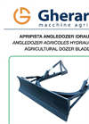 Angle Dozer Blade for Crawler Tractors- Brochure