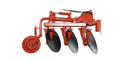 Reversible Disc Plough with Directional Wheel