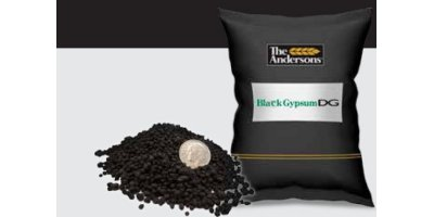 Model DG - Black Natural Dihydrate Gypsum Dispersing Granular Fertilizer