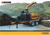 Model EC 860 - Professional Wood Chipper - Datasheet