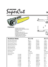SuperCut - Model 100 - Saw Unit Brochure