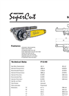 SuperCut - Model 300 - Saw Unit Brochure