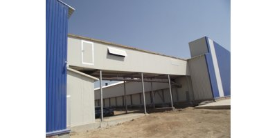 Sperotto - Poultry Houses for Cage Breeding