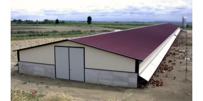 Sperotto - Free Range and Organic Breeding Poultry House
