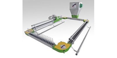 Sperotto - Flat Chain Poultry Feeding System