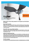 MagFan - Ultra Efficient Livestock Housing Wall Fan Brochure